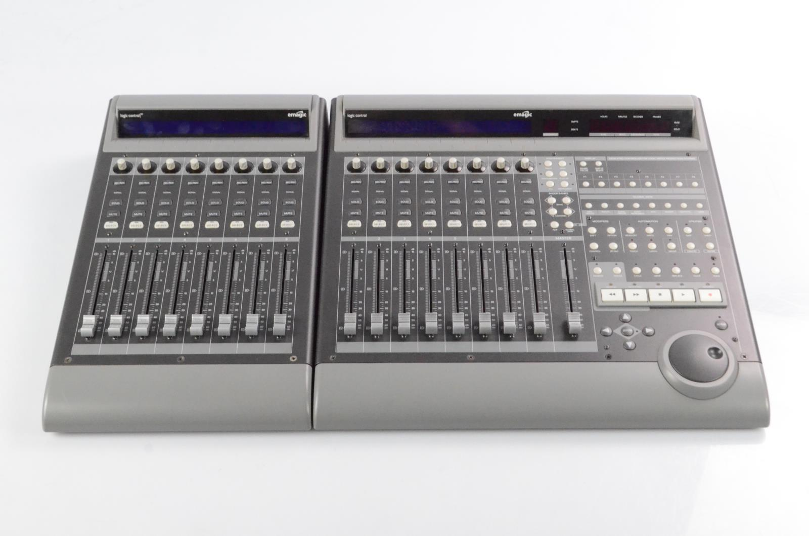 Mackie Logic Control Surface & XT Fader Expansion Owned by Reinhold Mack #33848