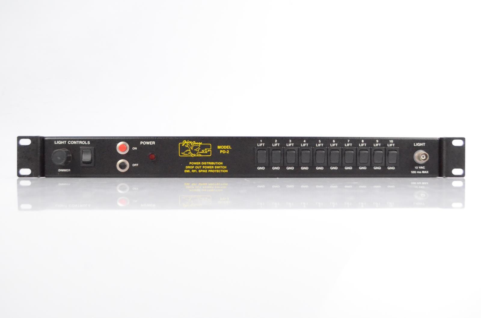 Juice Goose PD-2 PD2 Rack Power Conditioner Supply Carlos Rios #34025