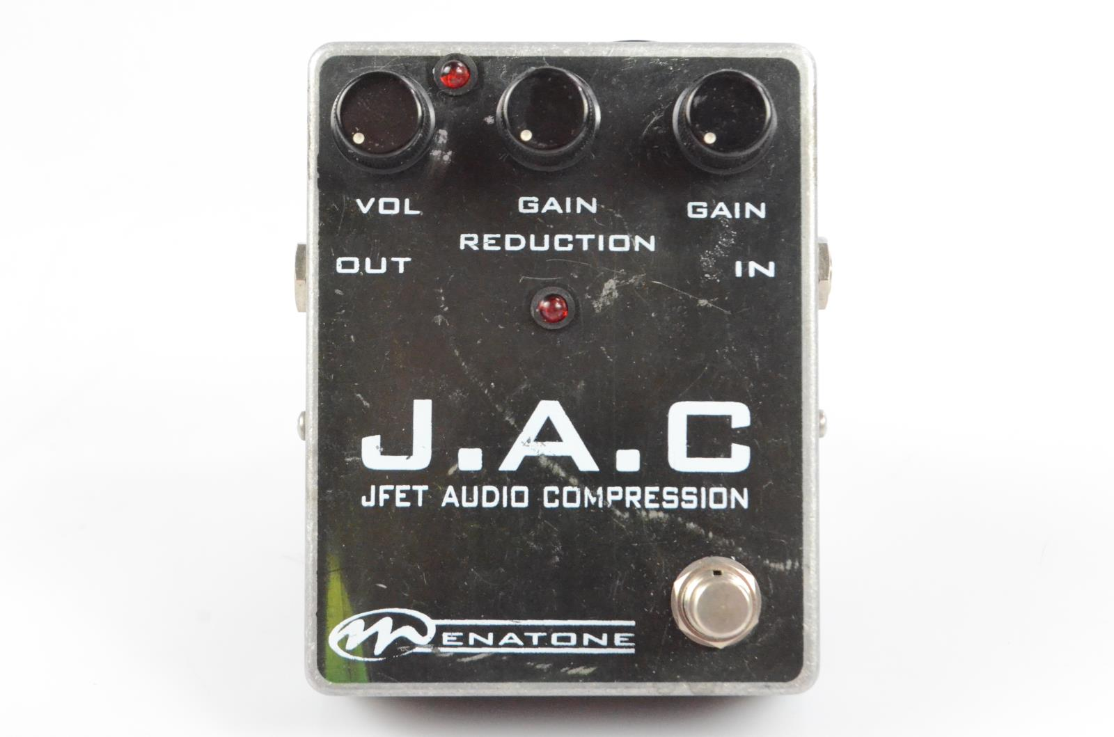 Menatone JAC JFET Audio Compression Guitar Pedal Owned by Carlos Rios #33950
