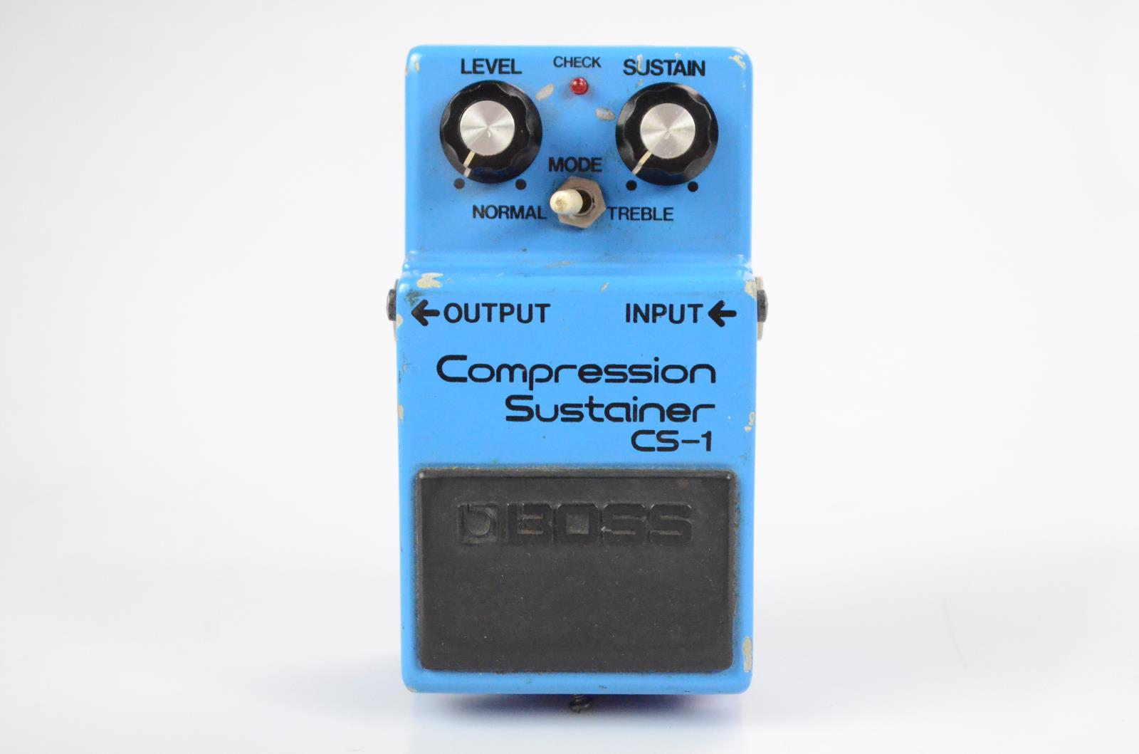 Boss CS-1 CS1 Compression Sustainer Guitar Pedal Owned by Carlos Rios #33956