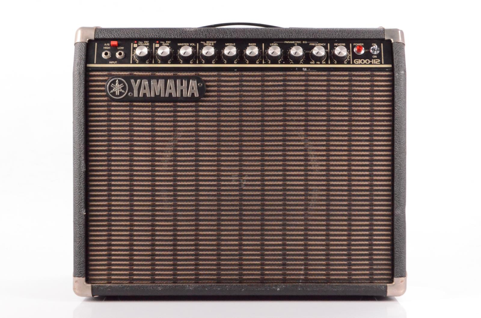 Yamaha G100-112 Combo Amplifier Amp w/ Road Case Owned by Carlos Rios #33941