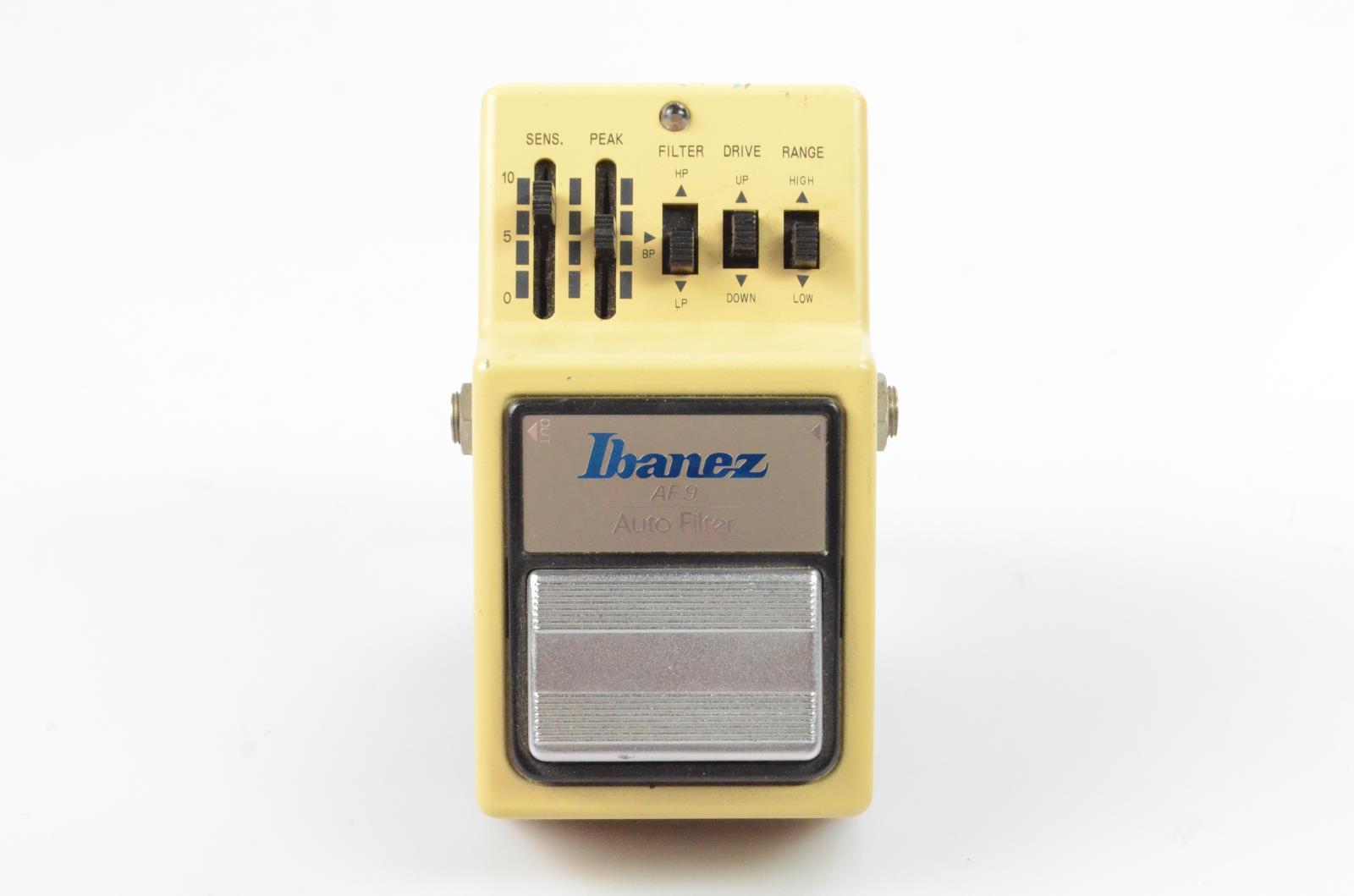 Ibanez AF 9 AF9 Auto Filter Envelope Wah Pedal Owned by Carlos Rios #33957