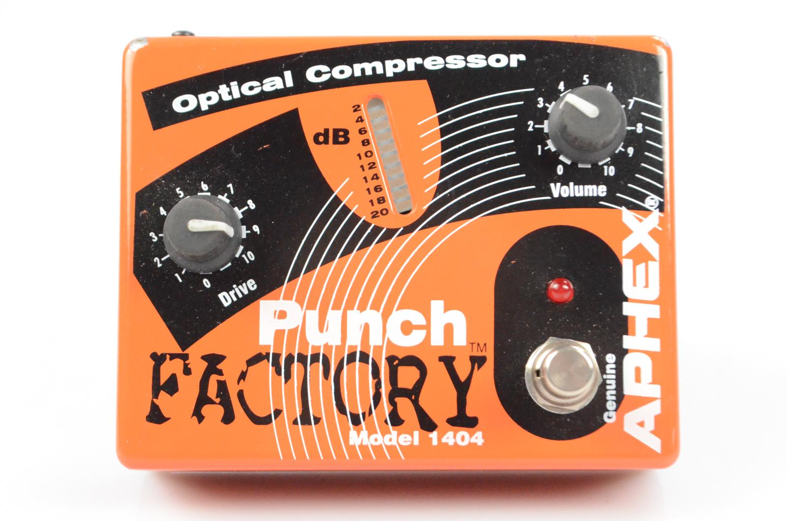 Aphex Punch Factory Model 1404 Compressor Pedal Owned by Carlos Rios #33966
