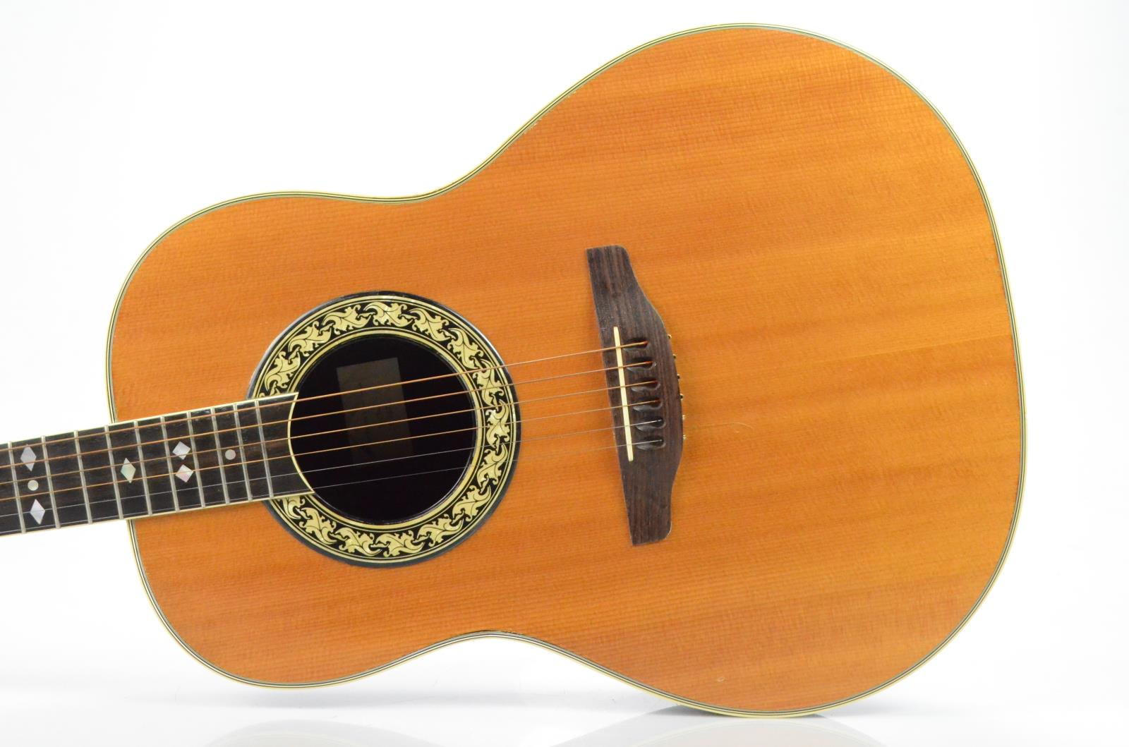 Ovation 1127-4 Glen Campbell Acoustic Guitar Left-Hand Lefty Carlos Rios #33984