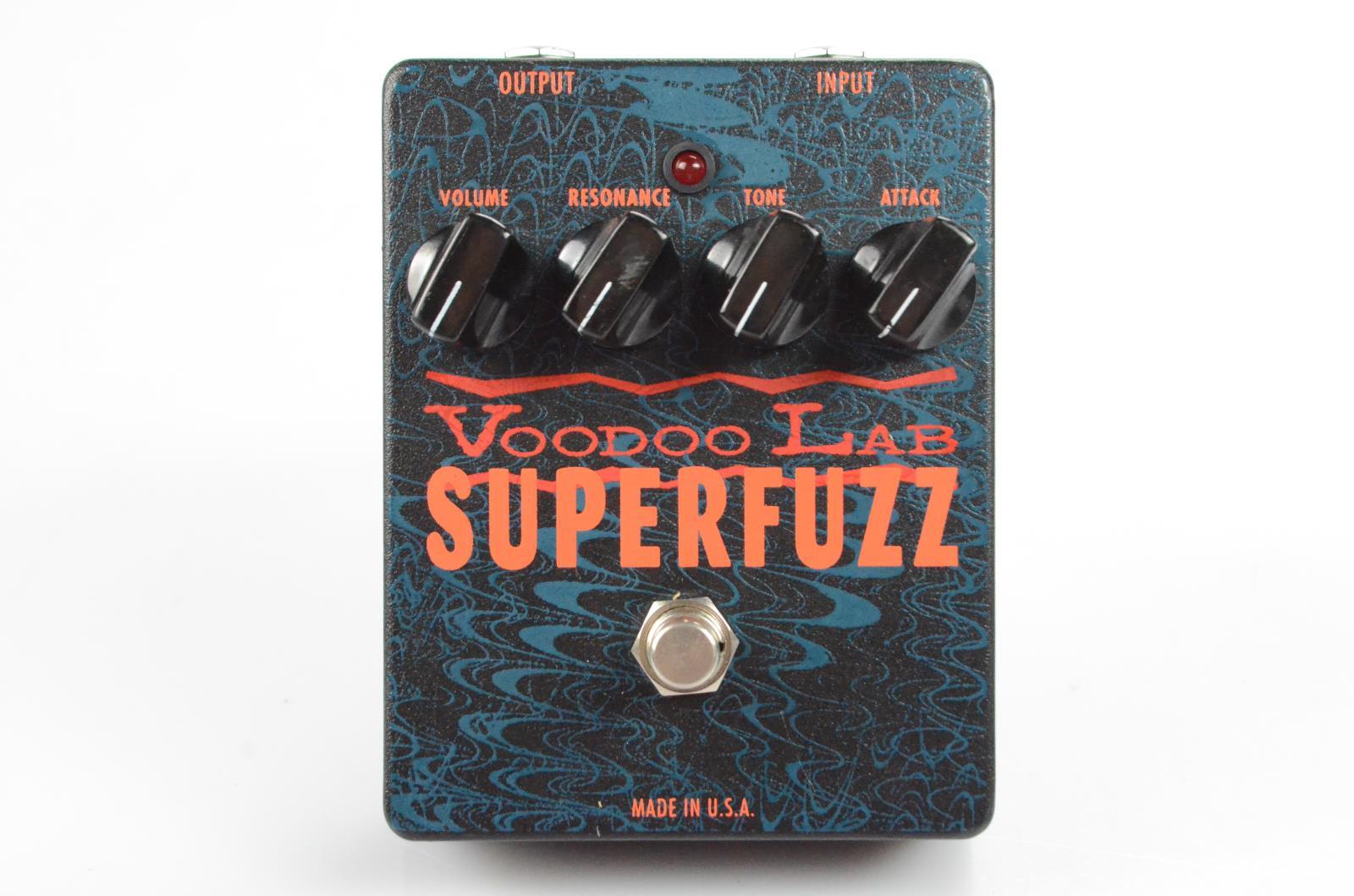 Voodoo Lab Superfuzz Super Fuzz Distortion Guitar Effect Pedal #33917