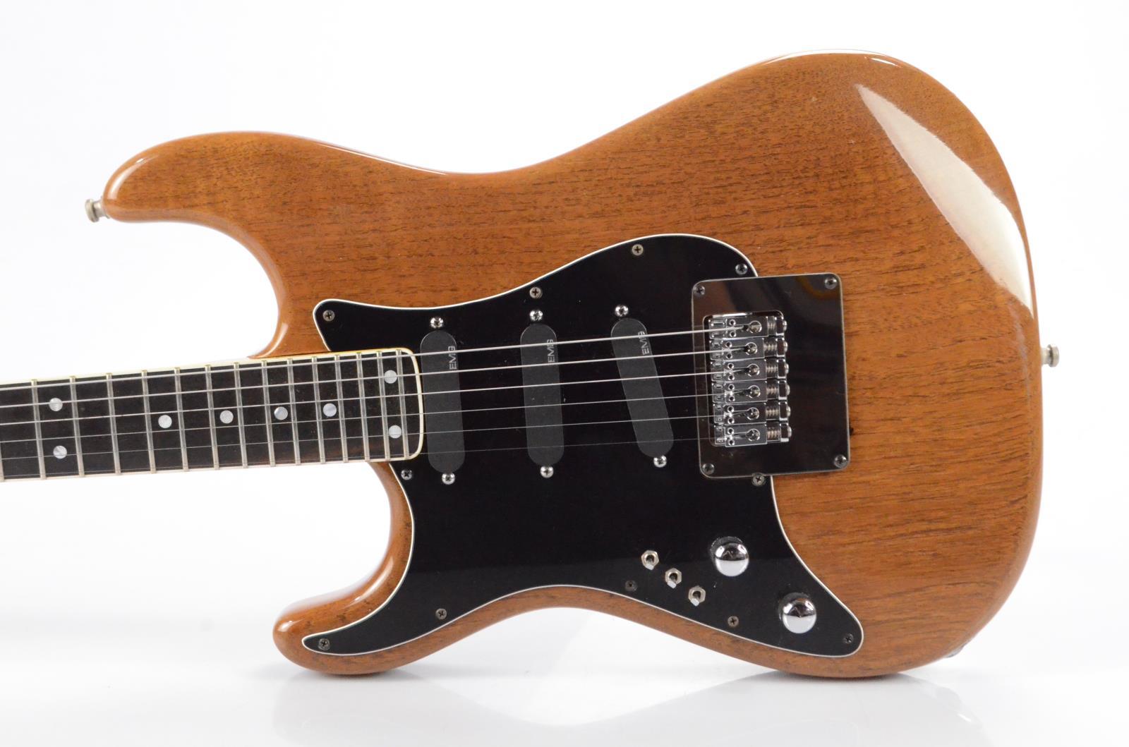 Valley Arts Stratocaster Strat w/ Fender Case Left Handed Carlos Rios #33985
