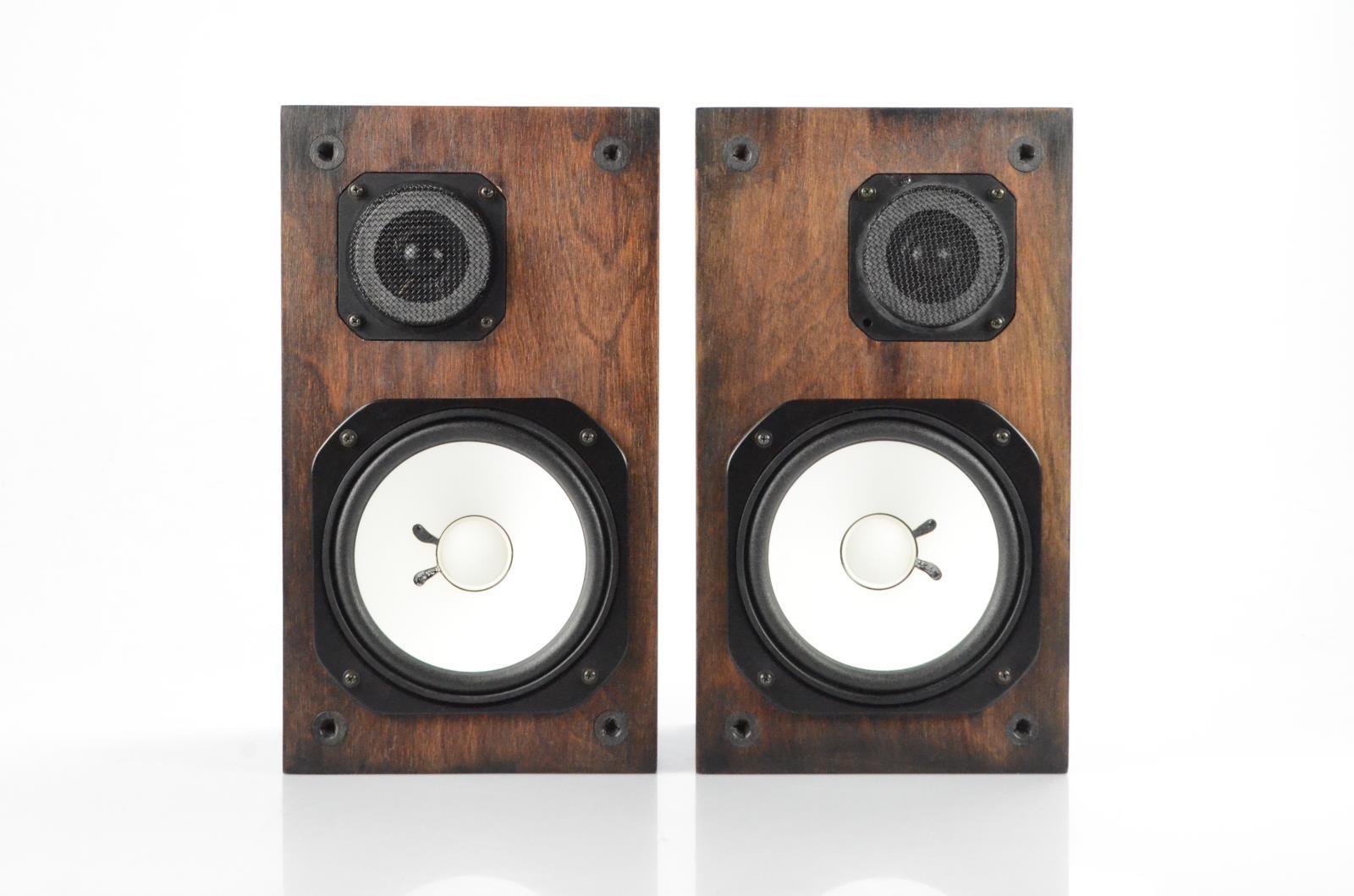 Yamaha NS-10M Nearfield Studio Speaker Monitors Custom Wood Stain #34075