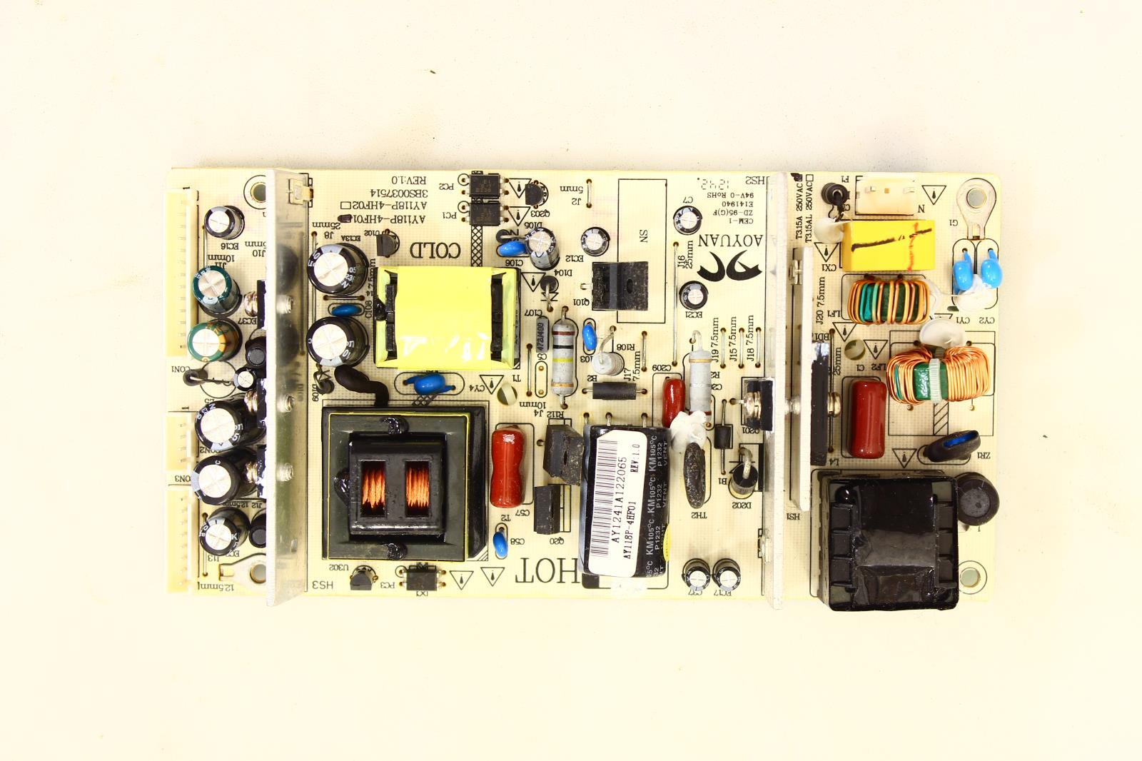 Sceptre X322bv Hd Power Supply Unit Ay118p 4hf01 Tvparts At