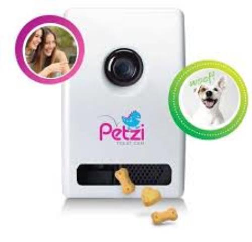 Petzi-Smart-Automatic-Pet-Treat-Dispenser-w-Wi-Fi-Camera-amp-Cell-Phone-APP-0025 thumbnail 3