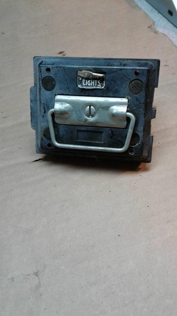 vintage pull out fuse box x2 60 amp fuses ebay rh ebay com