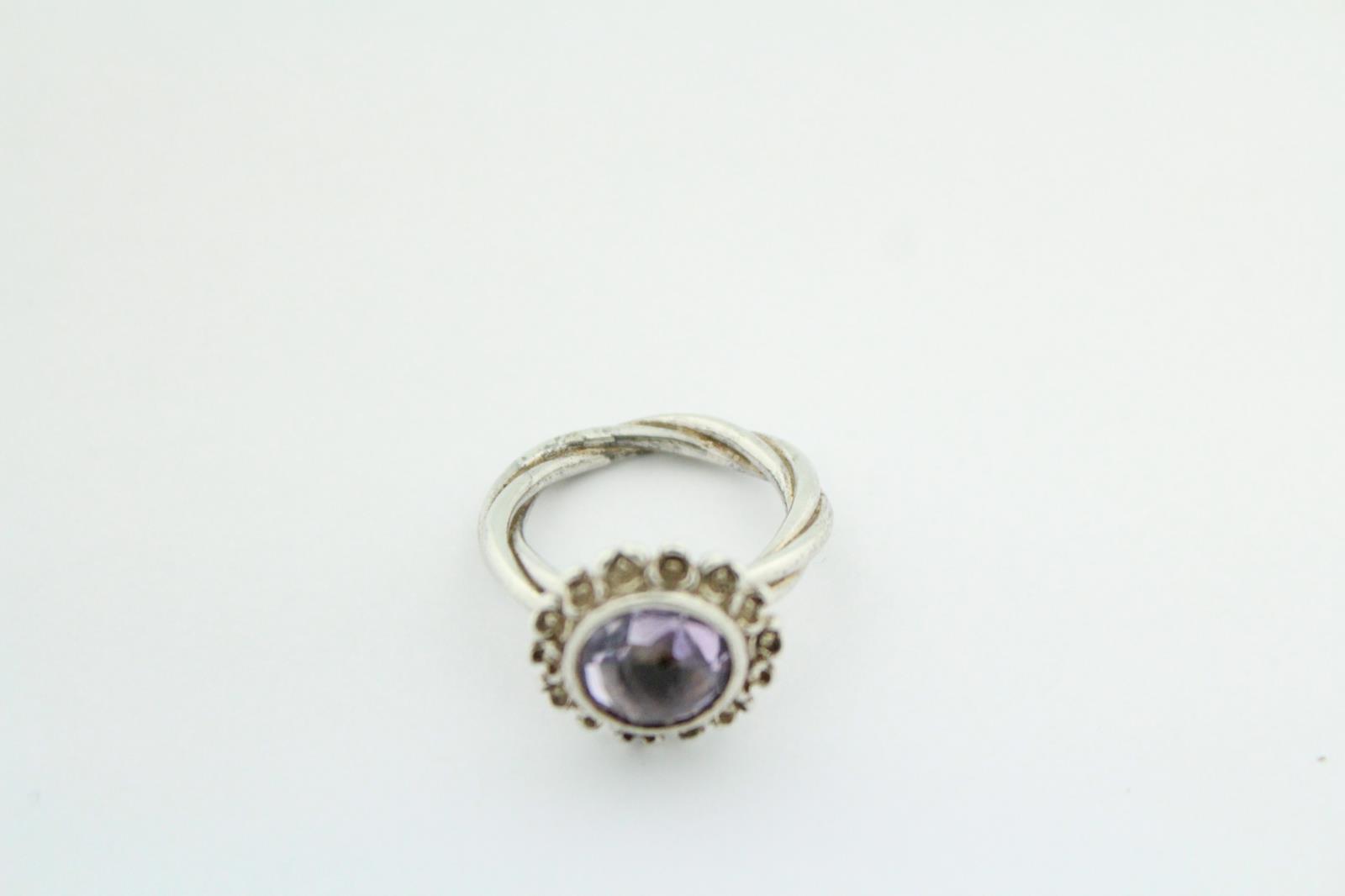 dc8e69660 Pandora (190850PAM) Floral Elegance - Size: 6 1/2 - .925 Sterling ...