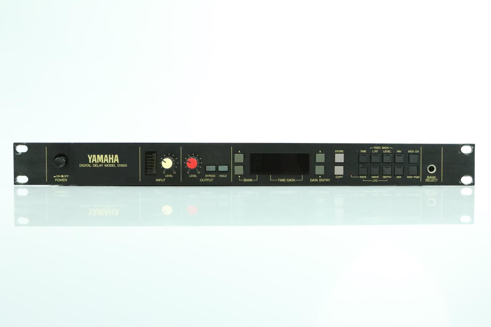 Yamaha D1500 Digital Delay Effect Processor #33920