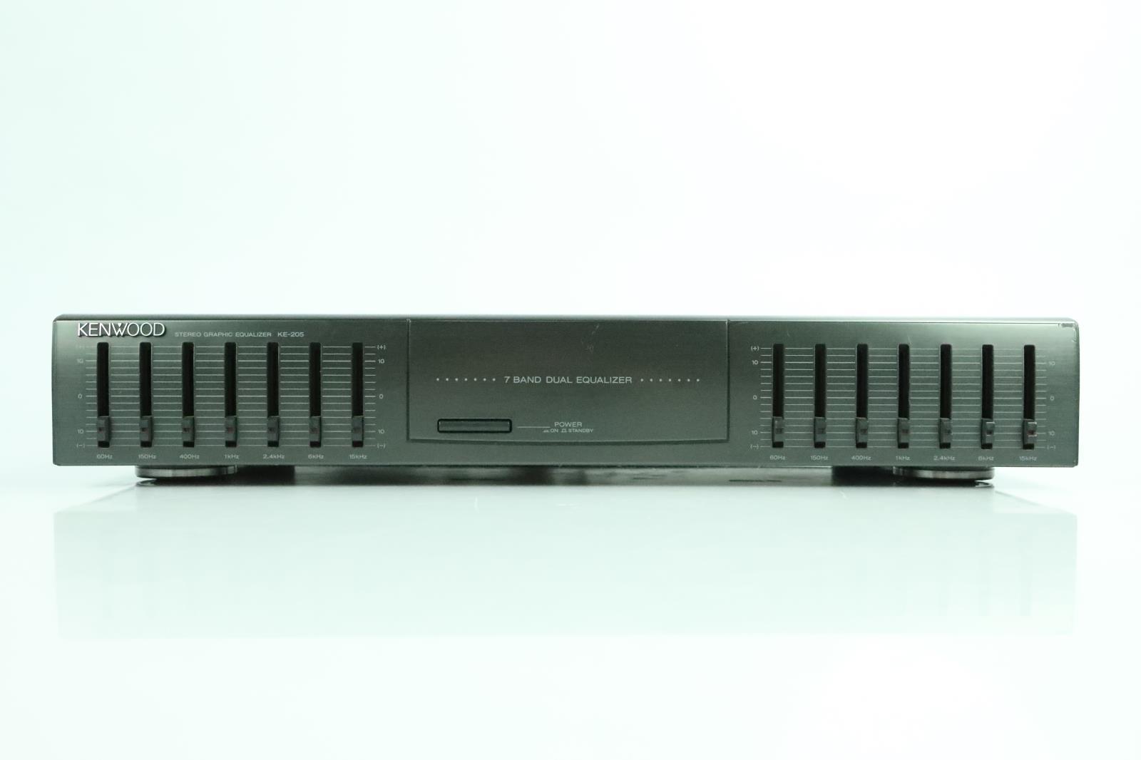Kenwood KE-205 Stereo Graphic EQ 7-Band Dual Equalizer KE205 #34066