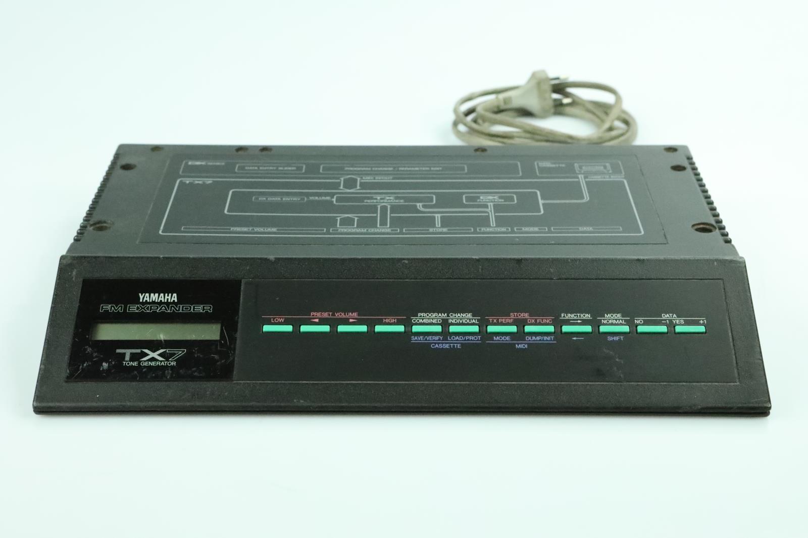 Yamaha TX7 Tone Generator FM Expander Owned by Anthony Gonzalez M83 #34110
