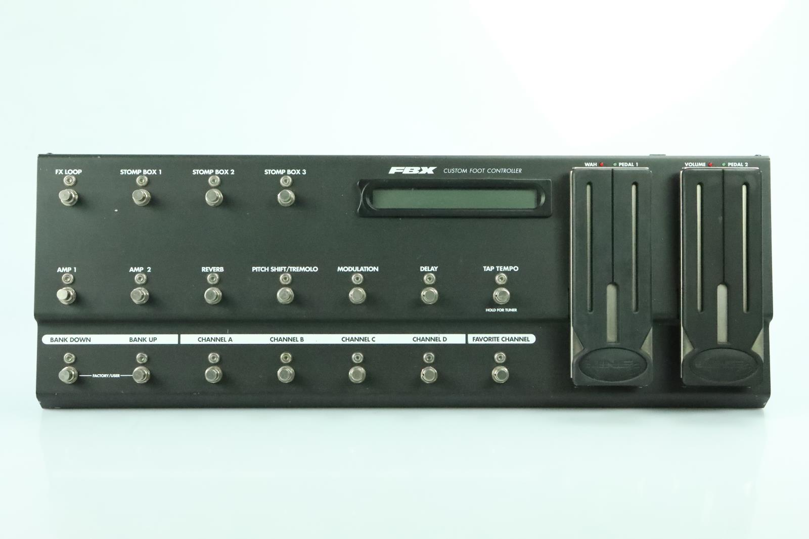 Line 6 FBV Custom Foot Controller Longboard Long Owned by Carlos Rios #33970
