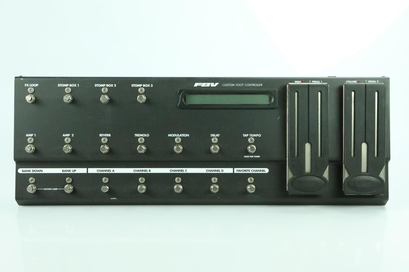 Line 6 FBV Custom Foot Controller Longboard Long Owned by Carlos Rios #33971