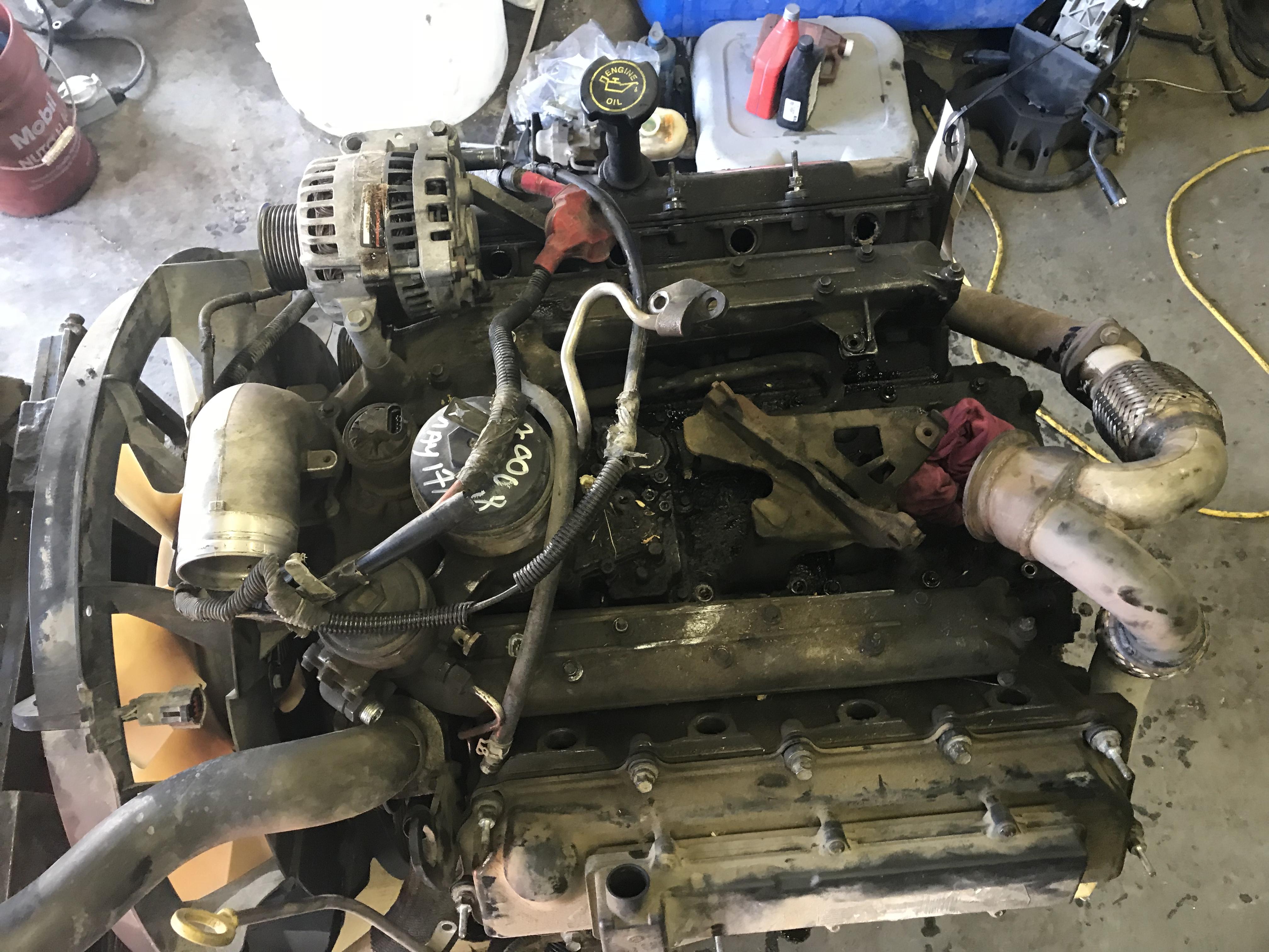 2005 F350  F450  F550 6 0l Powerstroke Engine Tag As43815