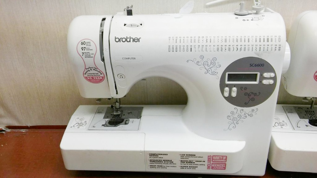 40 UNTESTED BROTHER COMPUTERIZED SEWING MACHINE 40 STITCHES BUILT IN Unique Brother Computerized Sewing Machine Sc6600a