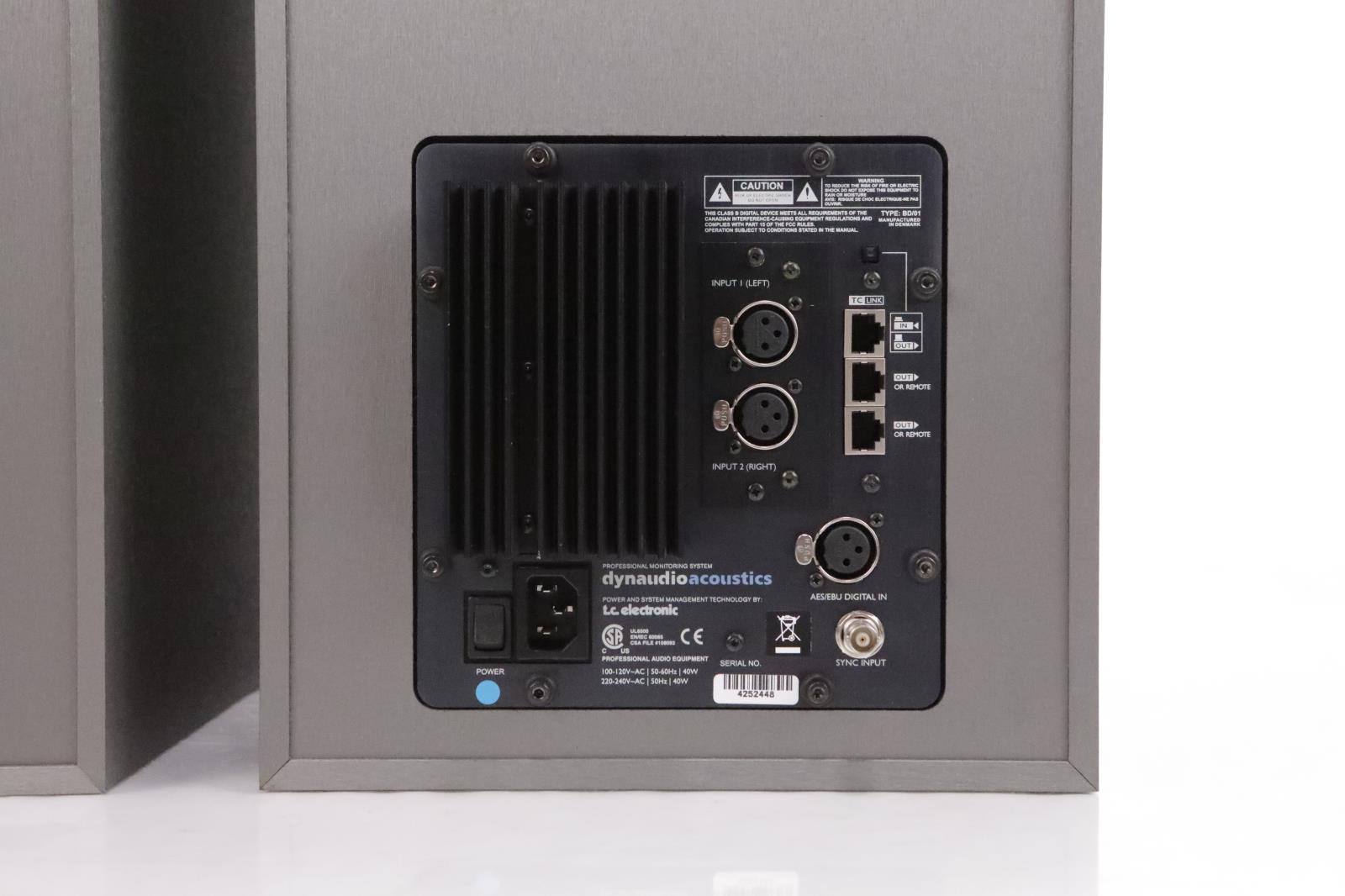 dynaudio air 15 master slave studio monitor speakers 34173 ebay. Black Bedroom Furniture Sets. Home Design Ideas