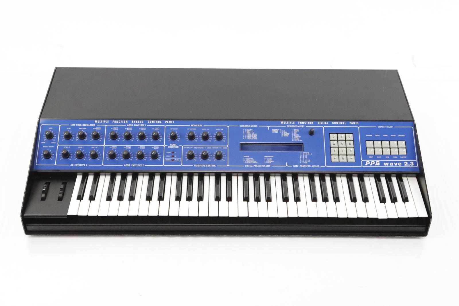 PPG Wave 2.3 Wavetable Synthesizer Synth 2.2 #34322