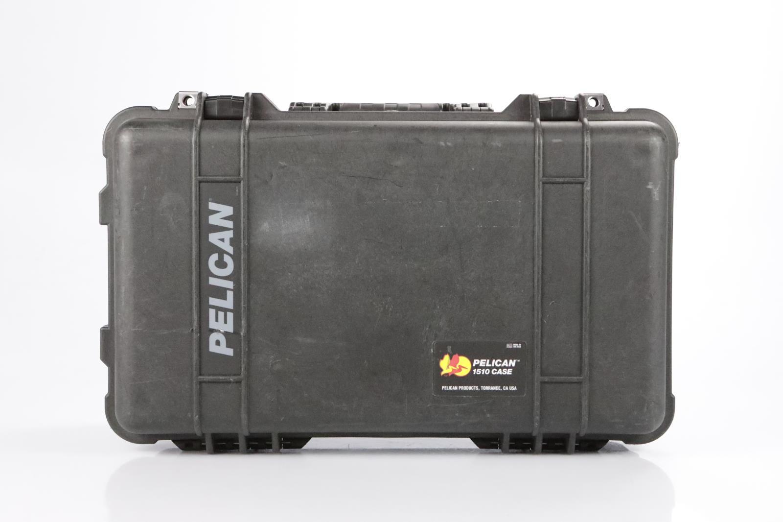 Pelican 1510 Audio Video Accessory Utility Rolling Hard Case w/ Wheels #34369