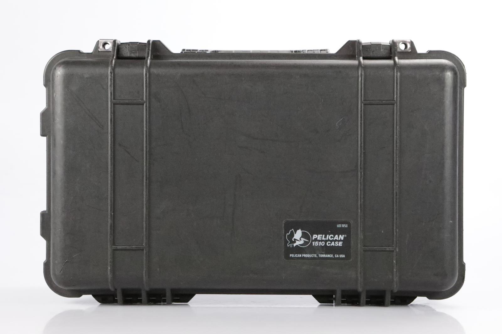 Pelican 1510 Audio Video Accessory Utility Rolling Hard Case w/ Wheels #34368