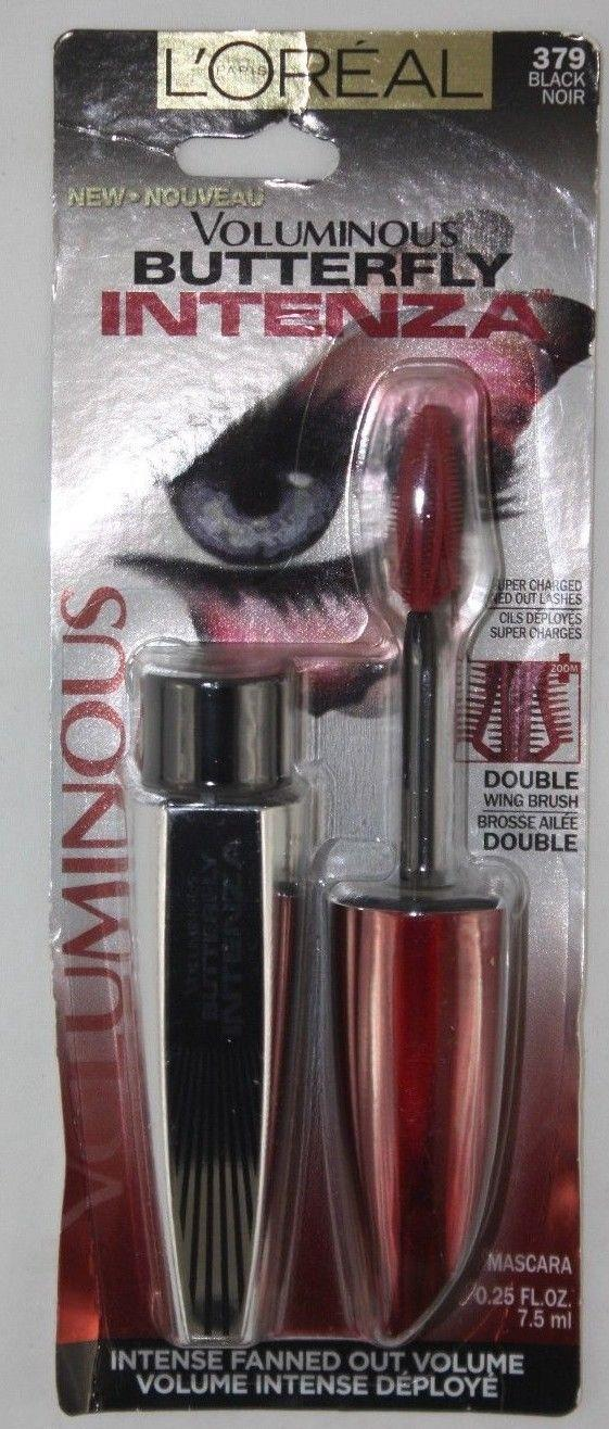 848d16bff85 Details about Loreal Paris Voluminous Butterfly Intenza Mascara 379 Black  Noir NEW Makeup Eyes