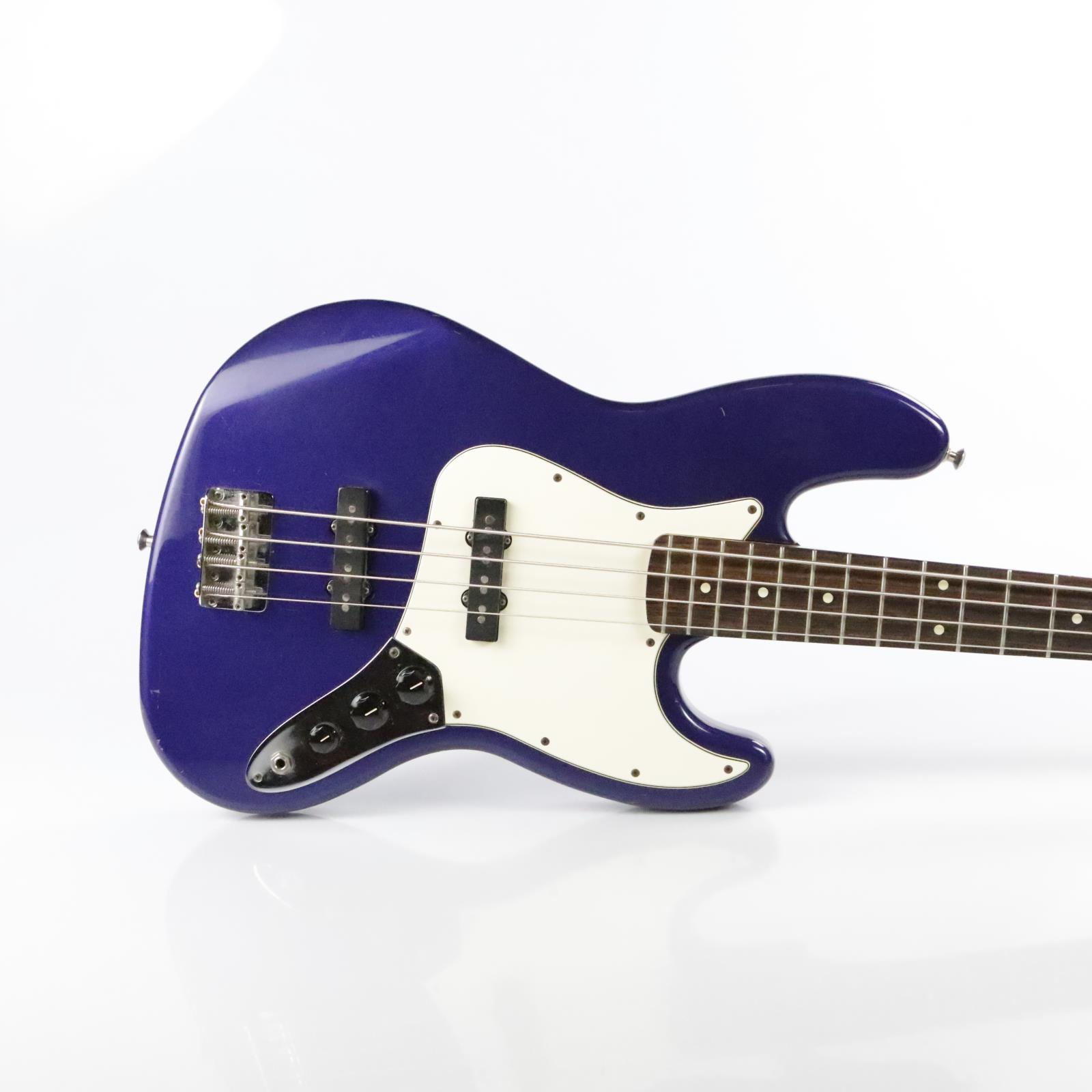 Fender Jazz Bass MIM Purple w/ Gig Bag Signed Bruce Kulick Kiss #34451