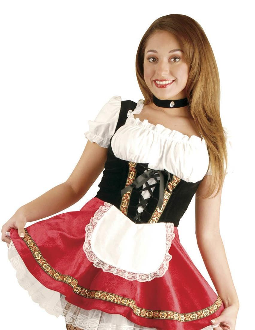 Details about Deluxe Beer Garden Girl Sexy Adult Costume - Small 2-4