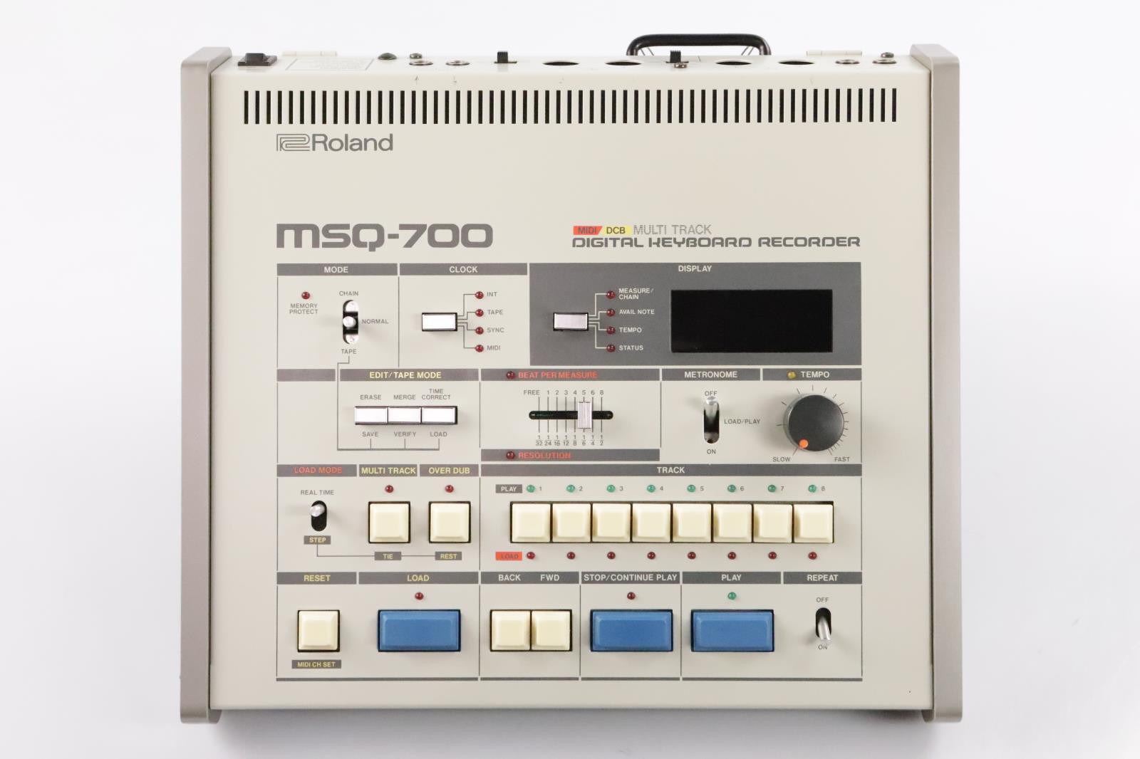 Roland MSQ-700 Vintage Digital Keyboard Recorder MIDI DCB  #34287