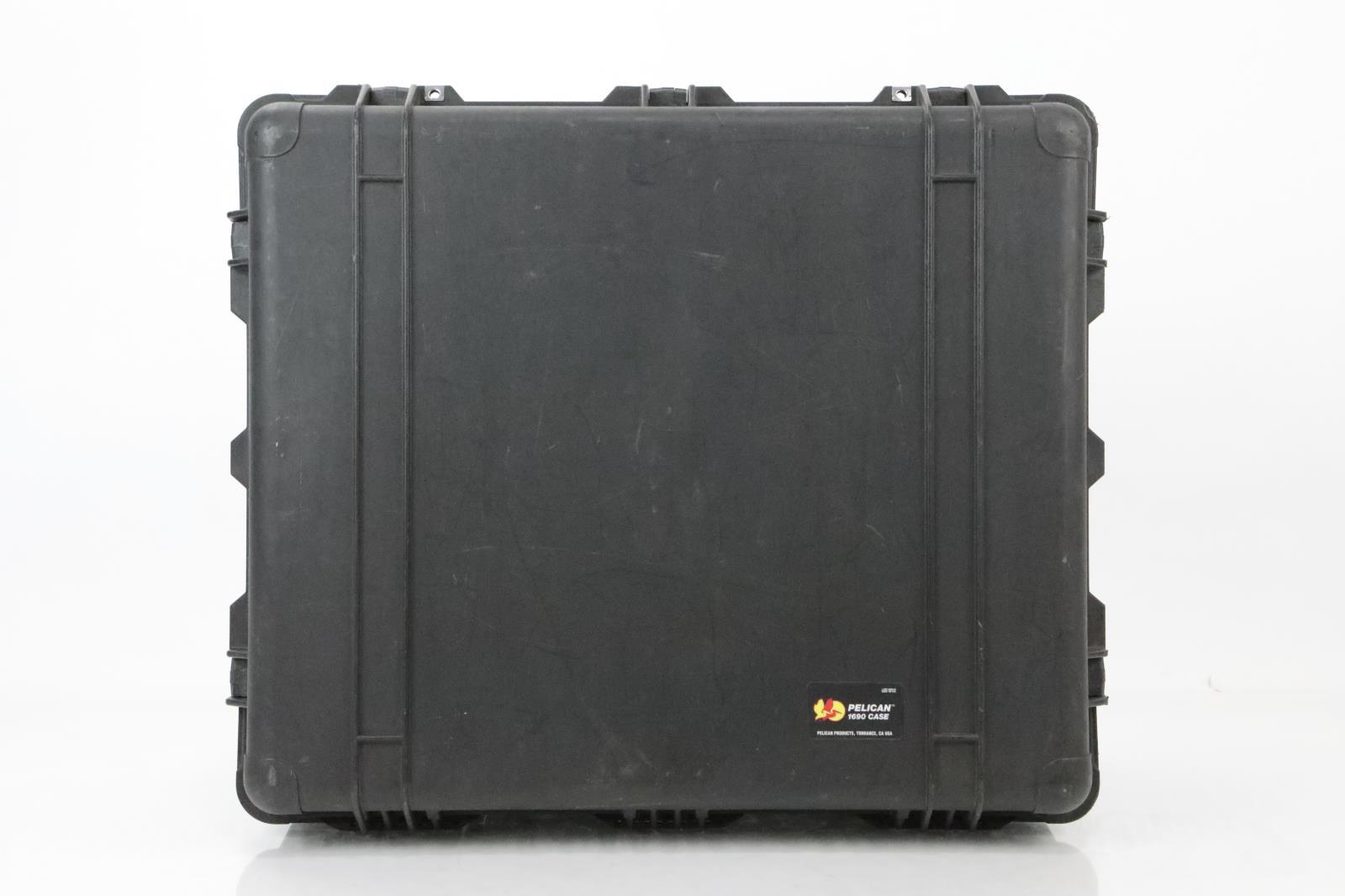 Pelican 1690 Audio Video Accessory Utility & Lid Organizer & B&W Case #34391