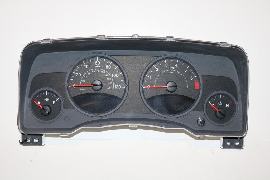 08 08 jeep patriot compass instrument cluster speedometer. Black Bedroom Furniture Sets. Home Design Ideas