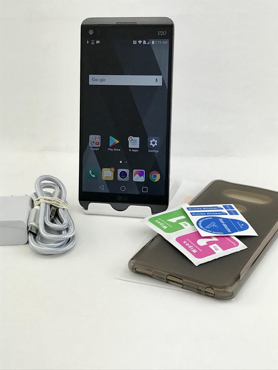 Details about LG V20 H918 64GB Gray! Will work on Metro PCS, Home, T-Mobile  Carriers!