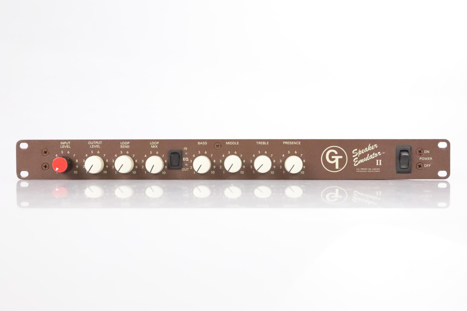 Groove Tubes Speaker Emulator II Guitar Cabinet Load Box Kiss #34562