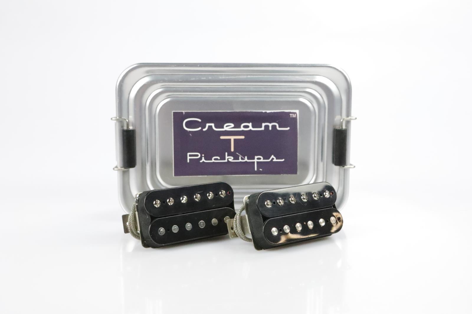 Cream T BK Custom Humbucker Bridge Neck Guitar Pickups Bruce Kulick Kiss #34425