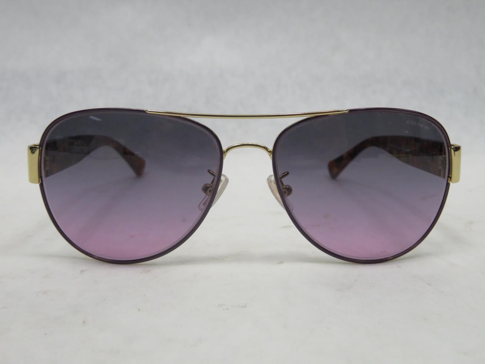 e2f43518b1 COACH Sunglasses HC7059 L138 924890 Gold Purple Purple Confetti 5 ...