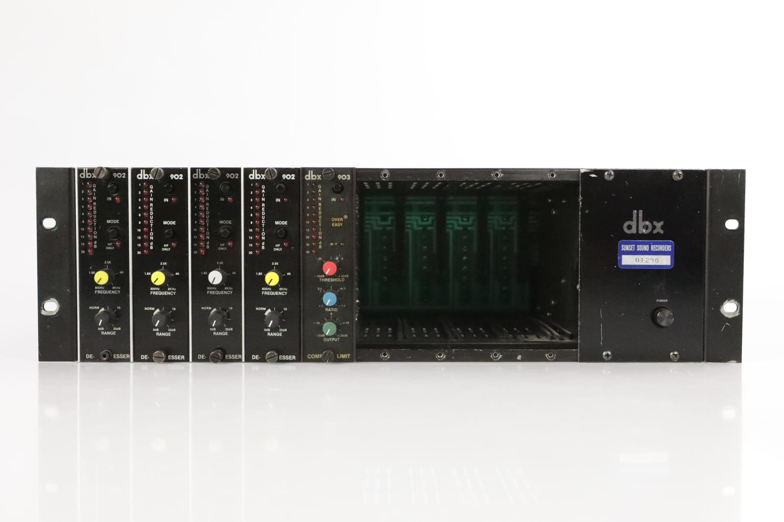DBX 900 Series Frame Power Supply w/ 903 & 902 Modules Sunset Sound #34068
