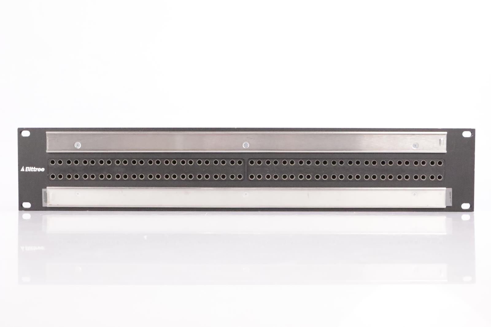 Bittree B96DC-FNLBT/E3 96 Point TT Patcbay w/ XLR TRS DB25 Snake Cables #34111