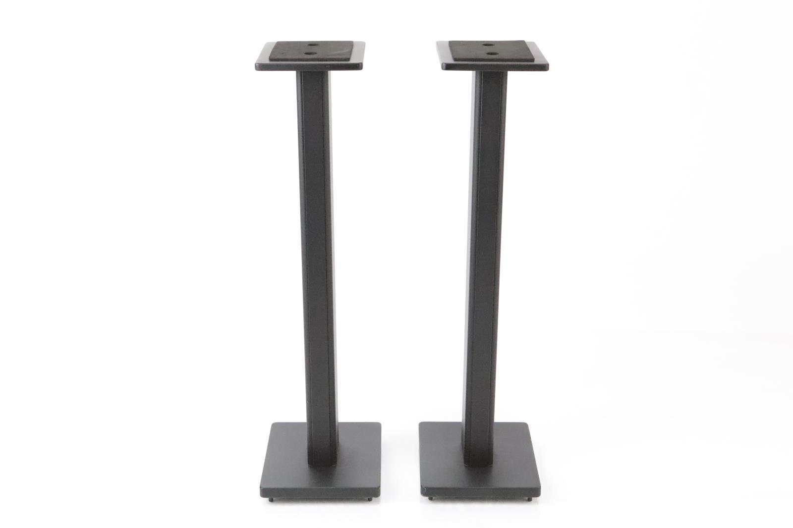 2 Recording Studio Monitor Speaker Stands in Black #34700