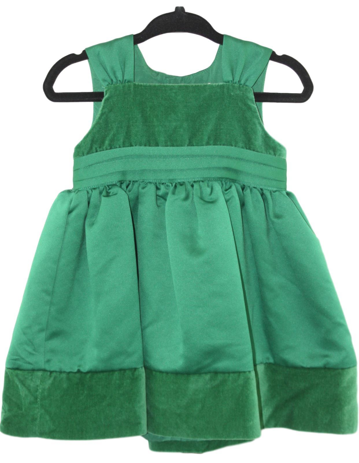 Christmas Green Dress.Details About Carters Baby Girl Green Christmas Holiday Sleeveless Dress Jumper Size 9 Mo