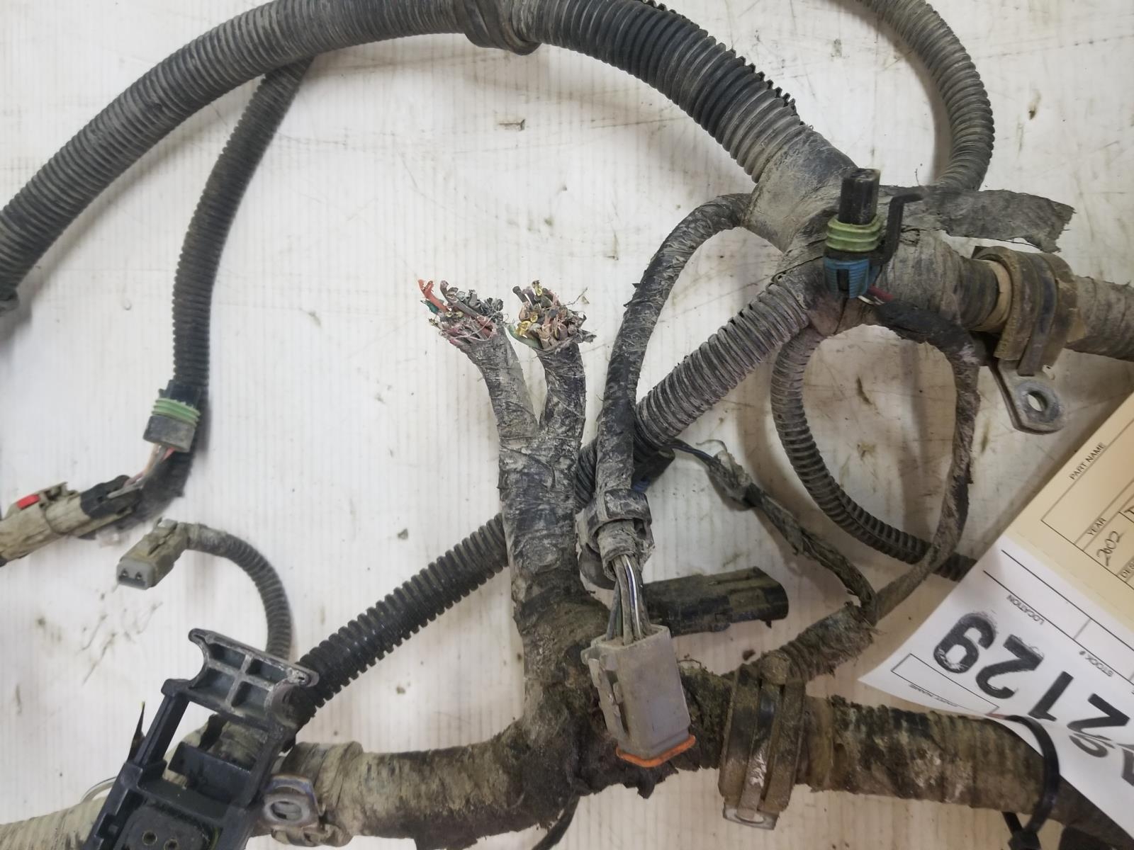 2002 dodge ram 2500 3500 cummins engine wiring harness tag. Black Bedroom Furniture Sets. Home Design Ideas