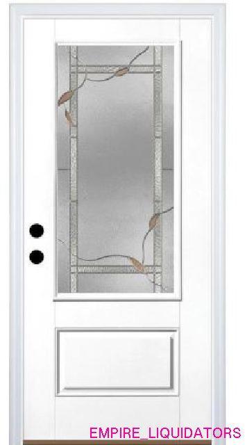36 X 80 Therma Tru Benchmark Doors Ashleigh Fiberglass Entry Door