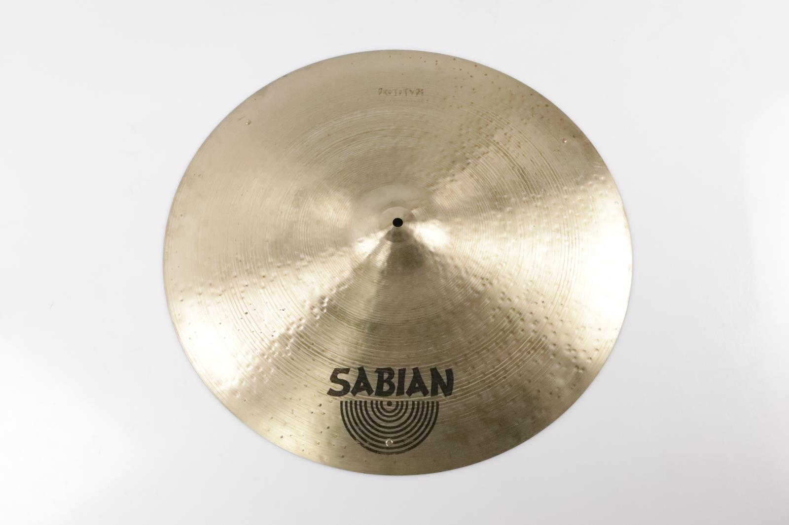 "Sabian 24"" Ride Prototype w/ Rivets Cymbal Dave Krusen #34826"