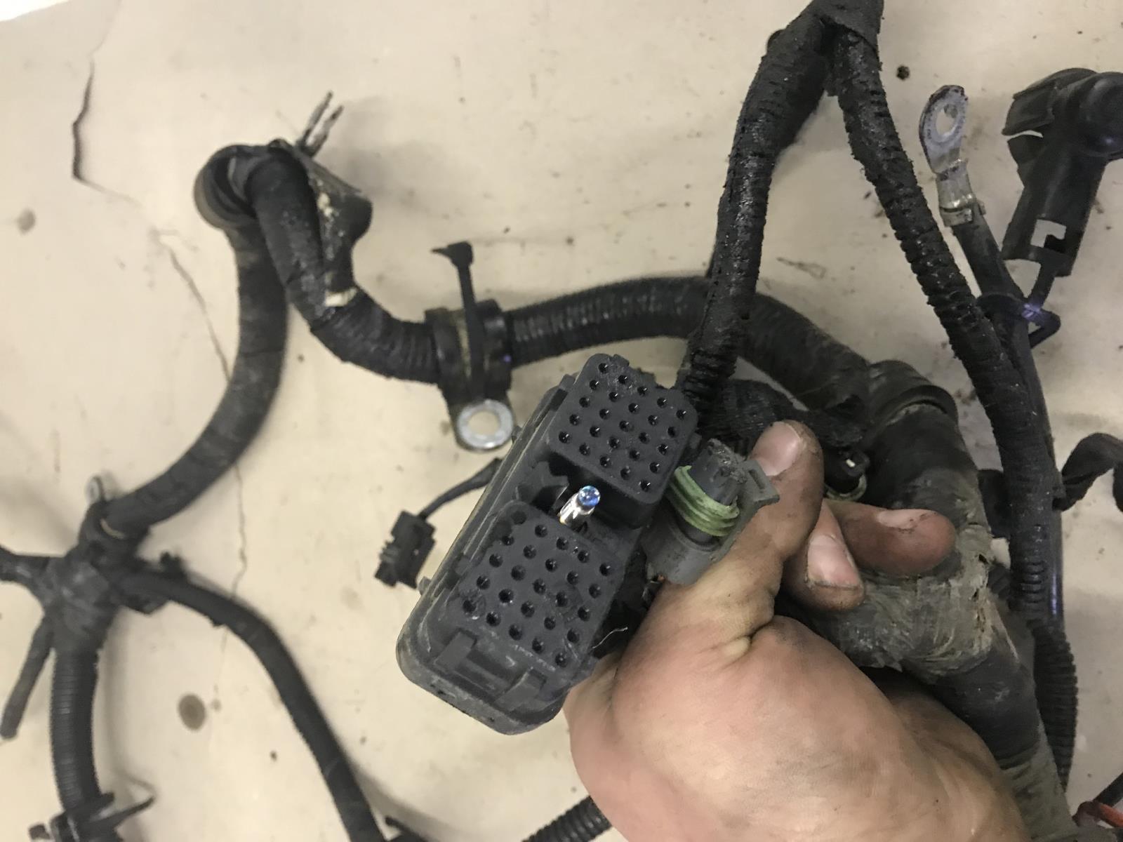 2000 dodge ram 2500 3500 cummins engine wiring harness tag as43296   ebay  ebay