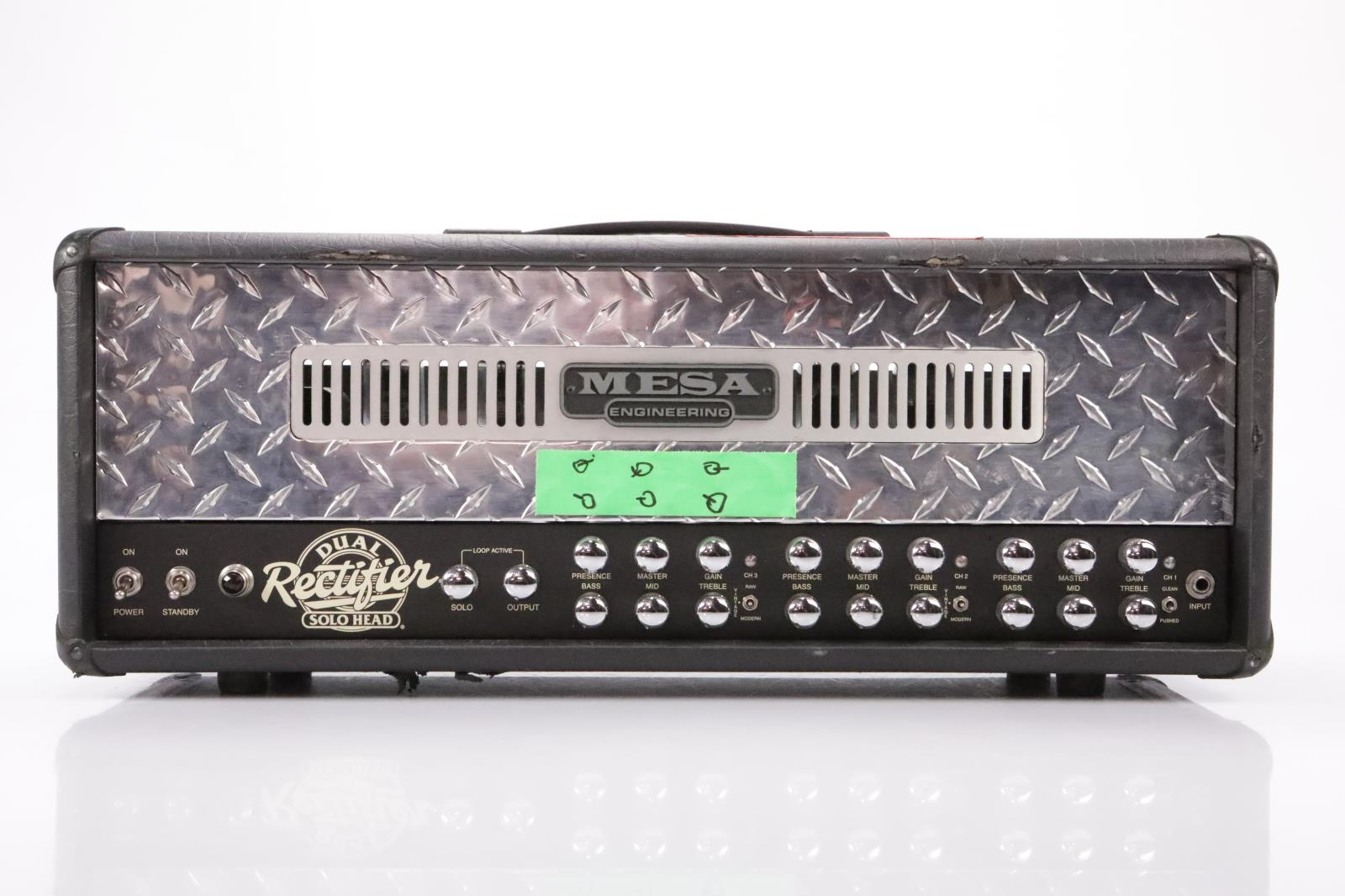 Mesa Boogie Dual Rectifier Solo Head 100 watt Tube Amp Owned by Satyricon #35070