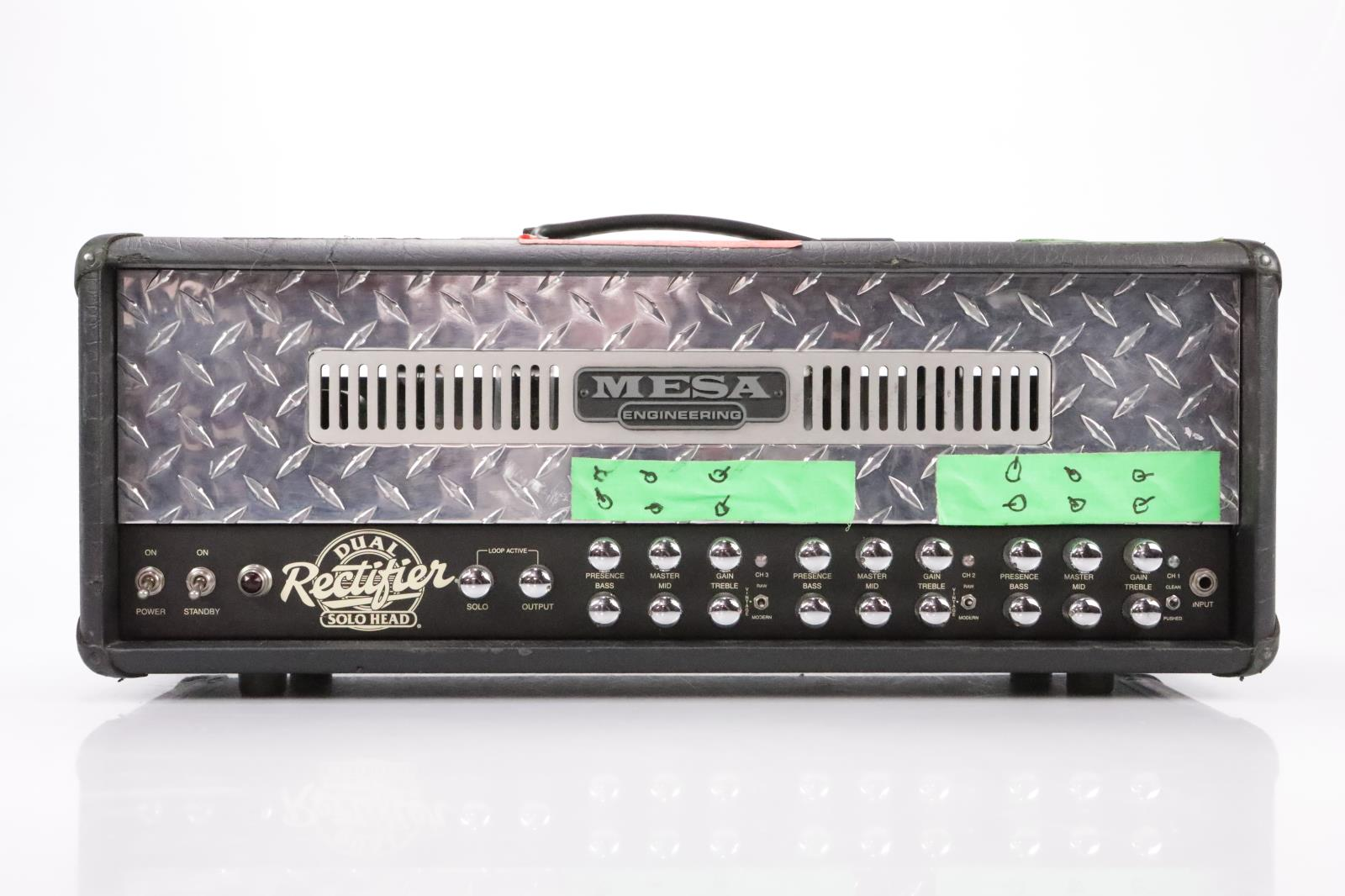Mesa Boogie Dual Rectifier Solo Head 100 watt Tube Amp Owned by Satyricon #35067