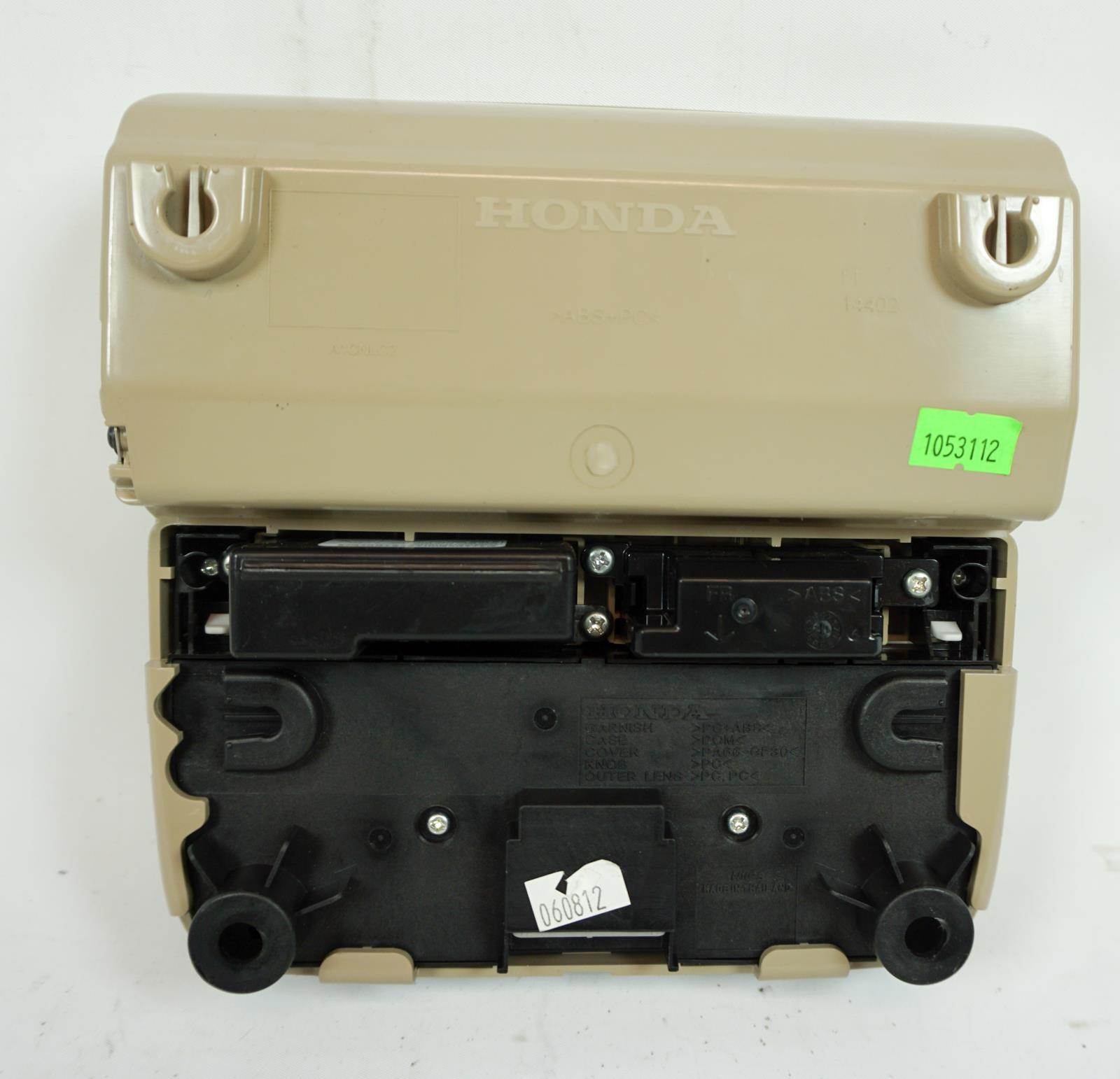 2013-2018 Acura RDX Overhead Console Sunroof Switch