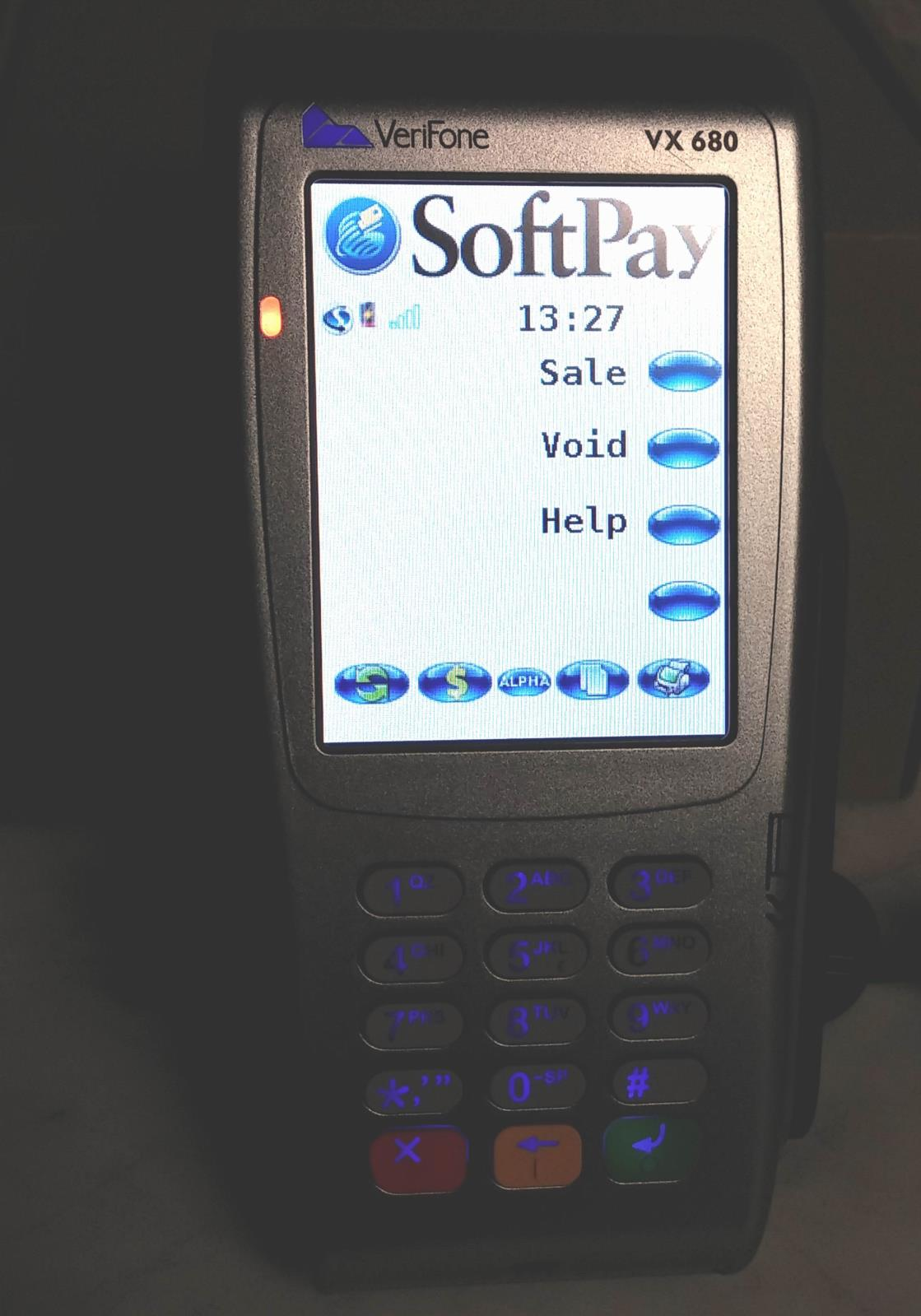 Verifone Vx680 3G EMV |Contactless Smart Card| Wireless Credit Card Terminal