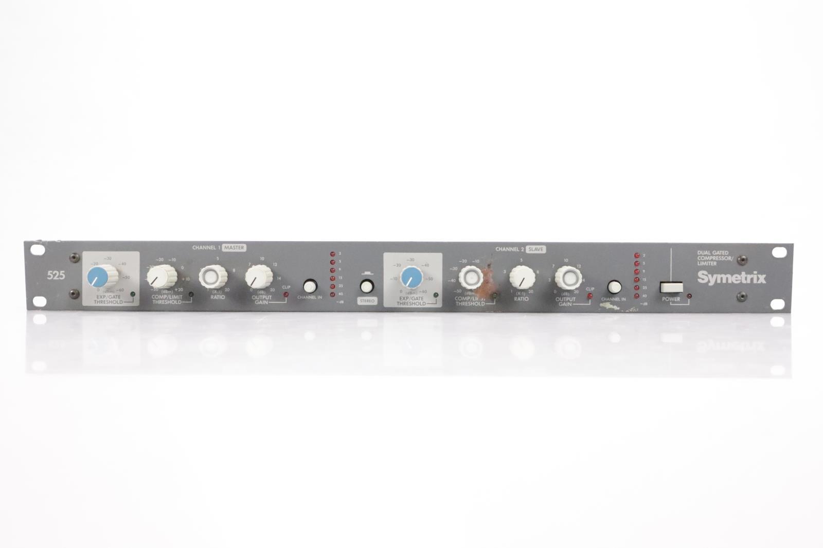 Symetrix 525 Dual Gated Compressor Limiter #34735