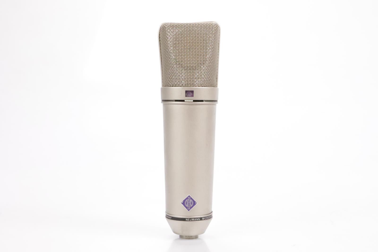 Neumann U 87 Ai Condenser Microphone Mic w/ Case Mogami XLR Cable & Mount #34828
